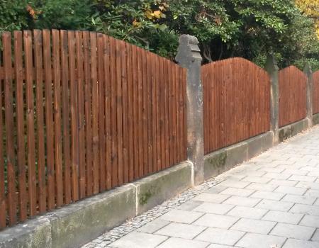 Zäune aus Holz