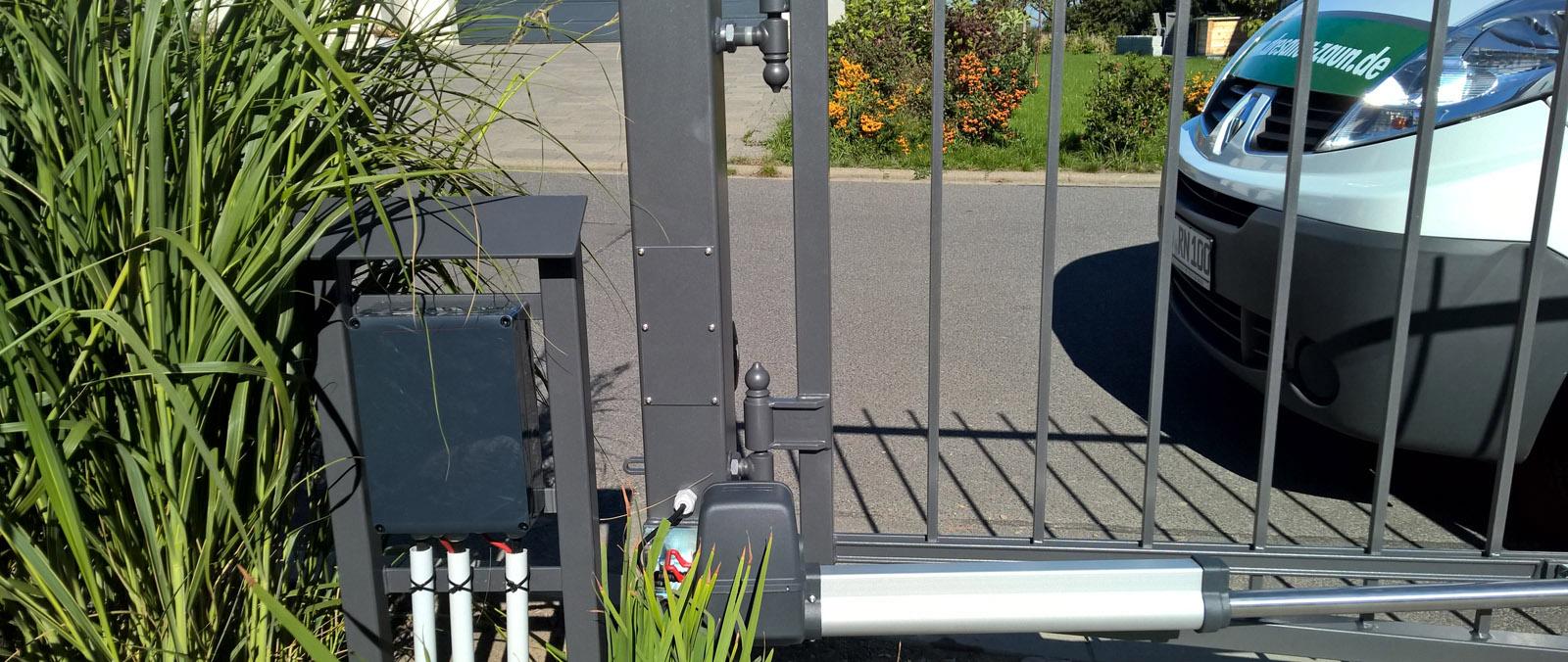 Torantrieb und Objektüberwachung